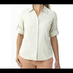 Royal Robbins Cool Mesh 3/4 Sleeve Shirt Medium